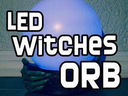 spazm animated halloween prop led witches orb r i p reviews youtube