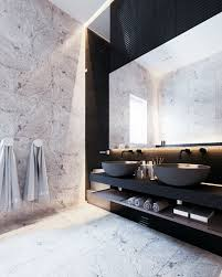Natural Bathroom Ideas Bathroom Dark Brown Vanity Cabinets White Waterfall Shower White