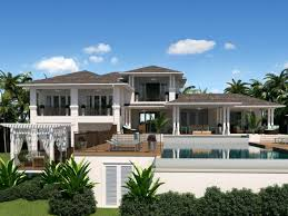 caribbean house plans homes zone