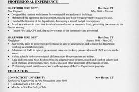 Paramedic Resume Examples by Captain Resume Sample Reentrycorps