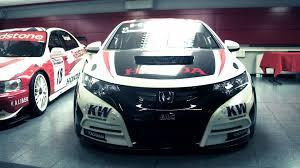 k design jas visite de l écurie wtcc honda jas motorsport youtube