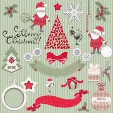cute cartoon christmas ornaments vector graphics 04 vector