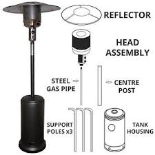 Parts For Patio Heaters Gas Patio Heater Replacement Spare Parts 14kw Outdoor Garden Heat