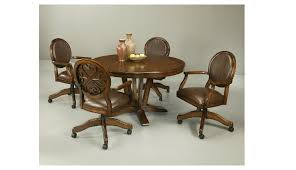 Rolling Dining Room Chairs Dining Room Chairs Casters Dining Room Decor Ideas And Showcase