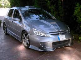 peugeot silver ahmad jaber tuning showroom peugeot 307 silver peugeot 307