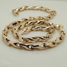 men necklace designs images Online shop vary width length 14 39 39 40 39 39 8mm width rose gold jpg