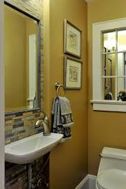 yellow bathroom decorating ideas window pane mirror mode new york contemporary bathroom decorating