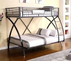 metal bunk bed with desk medium size of bed frames def full size