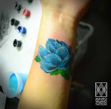 15 blue and black rose tattoo resultado de imagen para