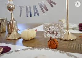 thanksgiving table place cards rustic glam thanksgiving table bubbly design co
