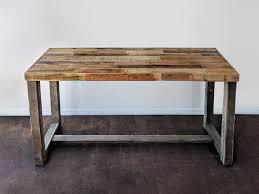 rustic high top table reclaimed wood bar restaurant counter community rustic custom