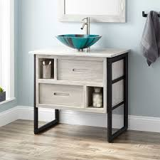 All Wood Bathroom Vanities by Vessel Sink Vanities 30