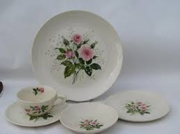 vintage china with pink roses baby s breath pink roses pattern vintage china dishes set for