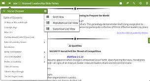 look inside maxwell leadership bible notes olive tree blog