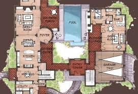 mexican house floor plans mexican hacienda floor plans hacienda spanish style home floor