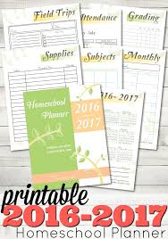 free home school free printable 2016 2017 homeschool planner from abcs to acts