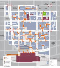 Path Subway Map by Toronto U0027s Path Network Toronto Financial District