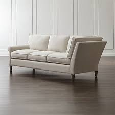 roll arm sofas crate and barrel