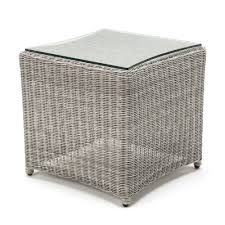white wicker side table kettler white wash wicker side table the old railway line