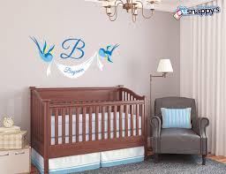 Custom Nursery Wall Decals by Wall Decals U0026 Stickers Snappy U0027s Boutique