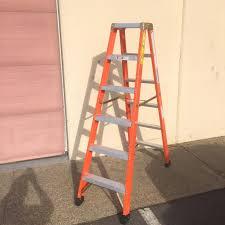 ladder fiberglass ladders industrial ladder and scaffolding inc