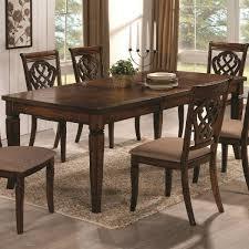 10339 rectangular dining table u0026 upholstered chair set