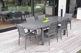 mobilier de jardin en solde table jardin aluminium pas cher inspiration pour jardin