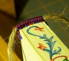 book headband bookbinding arte of the booke