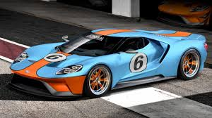gulf racing logo this is the new ford gt in gulf livery top gear