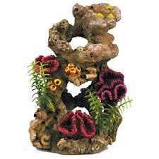 classic biorb aquarium ornament coral 7 inch aquariums fish