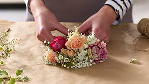 floral arranging the art of flower arranging flowercard thinking of you