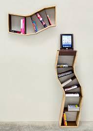 cool bookshelf designs sara bergando segmented book shelving cool