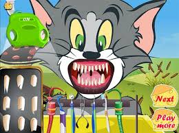 tom jerry dentists tom jerry games