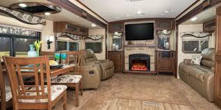 camper trailer inside tent idea