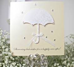 bridal shower best wishes handmade umbrella card design by occasion bridal wedding