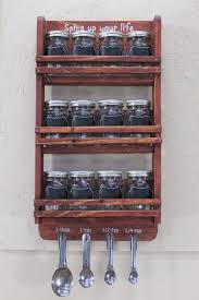 16 practical handmade spice rack ideas that will help you organize