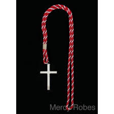 clergy cords clergy cords with cross clergy accessories mercy robes