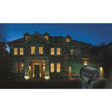 prime wire u0026 cable holiday landscape laser light projector