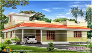 kerala single floor house plans 1858 sq feet kerala model single floor home kerala flat roof