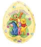 winnie the pooh easter eggs bargain balloons winnie the pooh mylar balloons and foil balloons