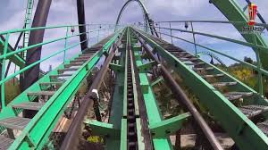 Six Flags Rollercoaster Six Flags Magic Mountain Riddler U0027s Revenge Pov Hd Roller Coaster