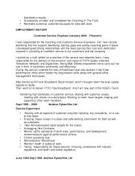 Sample Resume For Customer Service Supervisor by Cv 2 Bruce