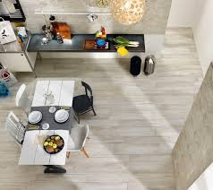 modern minimalist kitchen dining room design with white wood look modern minimalist kitchen dining room design with white wood look porcelain tile planks and vintage dining table with 4 chairs plus wall mounted kitchen