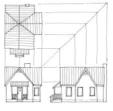 Front Porch Drawings Home Design House Plans With Porches