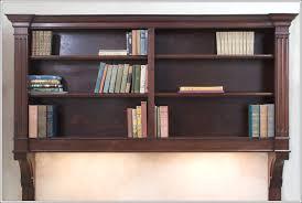 Mahogany Effect Bookcase Mahogany Hanging Bookcase