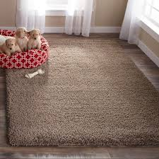 How To Clean A Fluffy Rug Safavieh California Cozy Plush Taupe Shag Rug Free Shipping