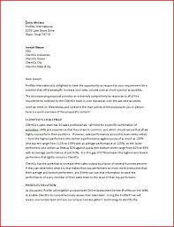 perfect sample cover letter for a business proposal 67 for doc