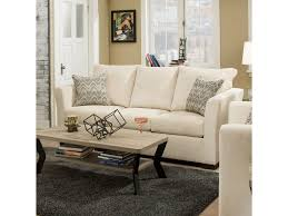 Simmons Sleeper Sofa by Simmons Upholstery 4206 Transitional Queen Sleeper Sofa Dunk