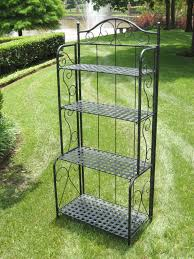 Mini Bakers Rack Tips Decorative Outdoor Bakers Rack For Indoor And Outdoor Use
