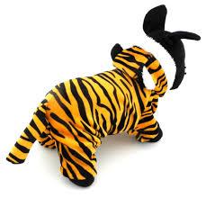 halloween fleece esingyo pet puppy apparel small dog cat clothes warm fleece tiger